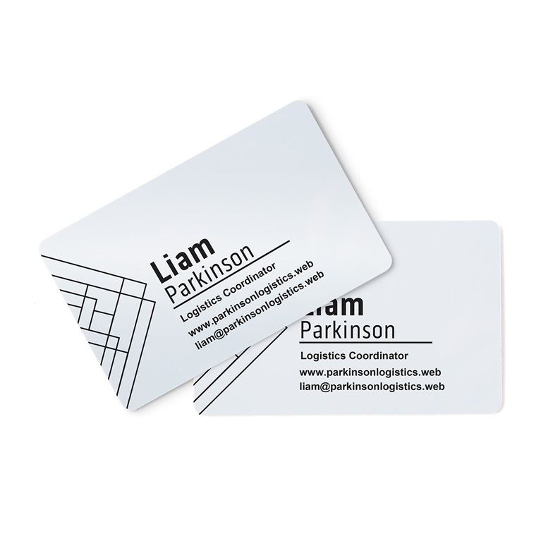 Plastic Business Cards  Vistaprint