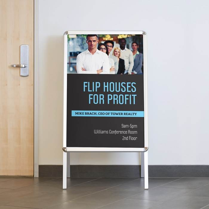 Custom A-frame Signs & Sandwich Boards | Vistaprint