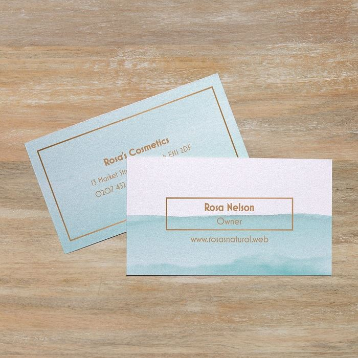 Pearl business cards · Vistaprint