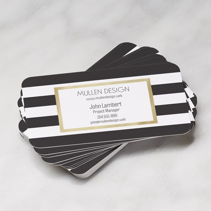 Rounded Corner Business Cards | Vistaprint