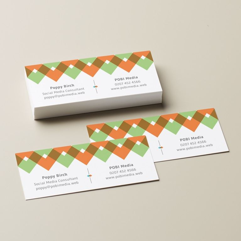 Small slim business cards vistaprint for Vistaprint business card prices