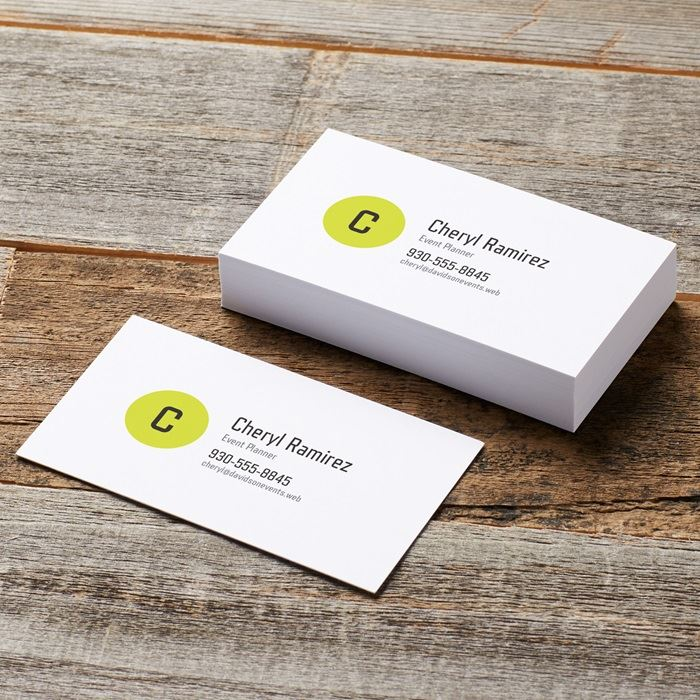 Business Card. A Clean And Clear Design For Your Business Card Helps ...