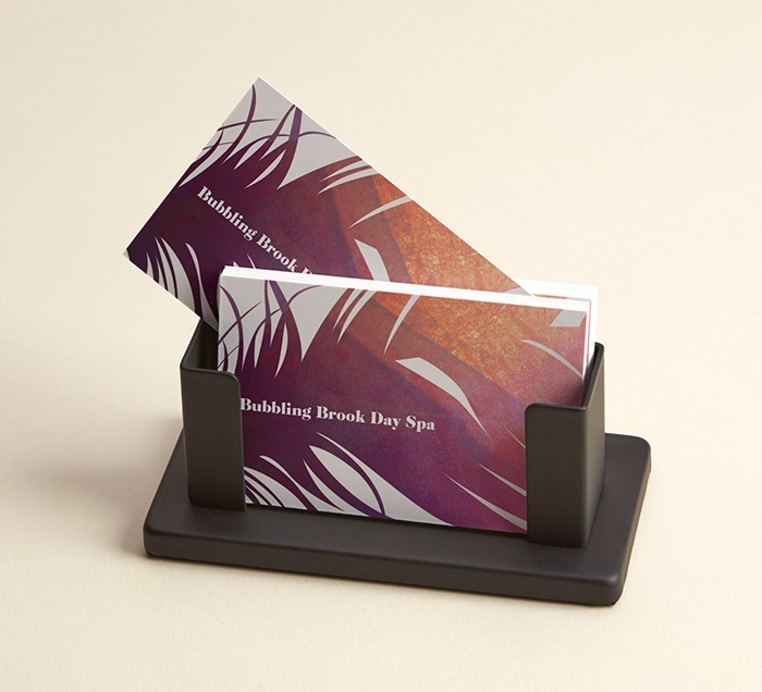 Desk business card holders desk card holder vistaprint steel desk business card holders colourmoves