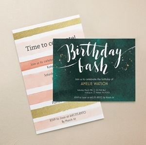 Birthday invitations personalized party favors vistaprint adult birthday invitations filmwisefo