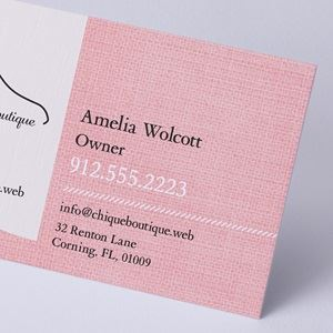 linen - Business Card