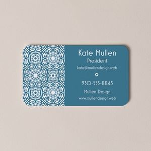 rounded corner - Create My Own Business Card