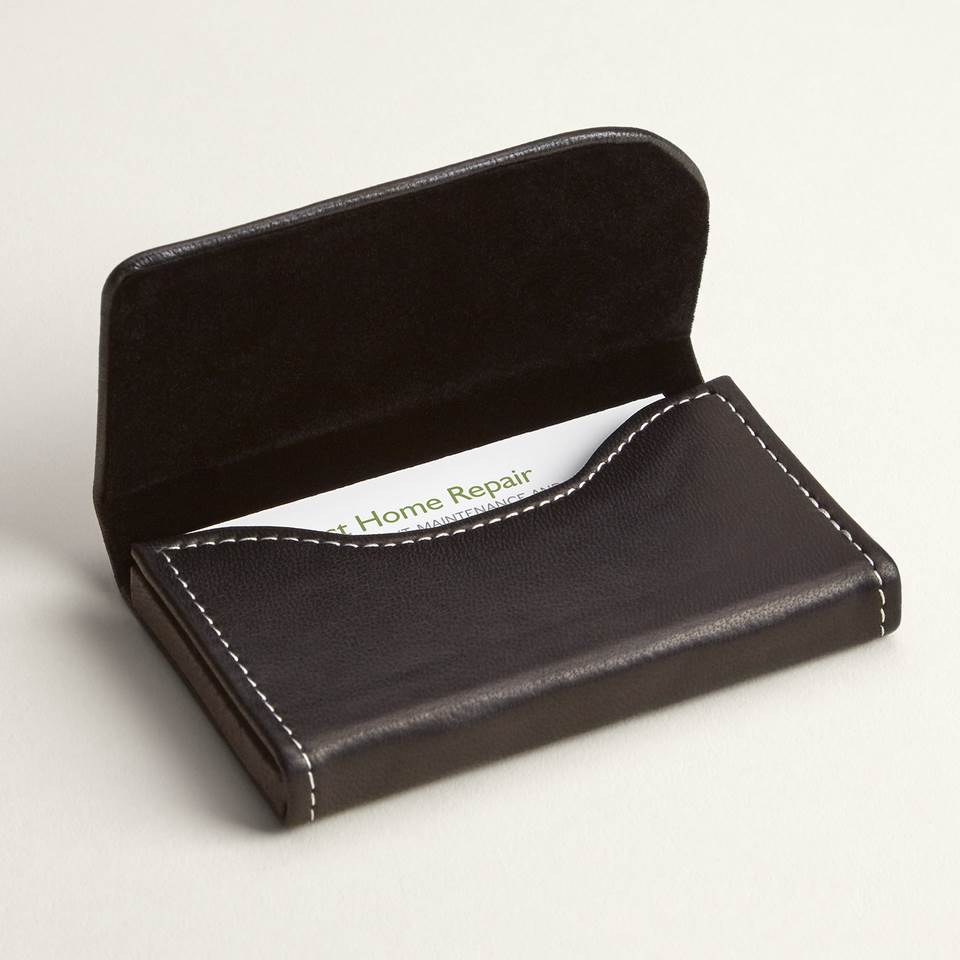 Personalized Business Card Holders & Cases | Vistaprint