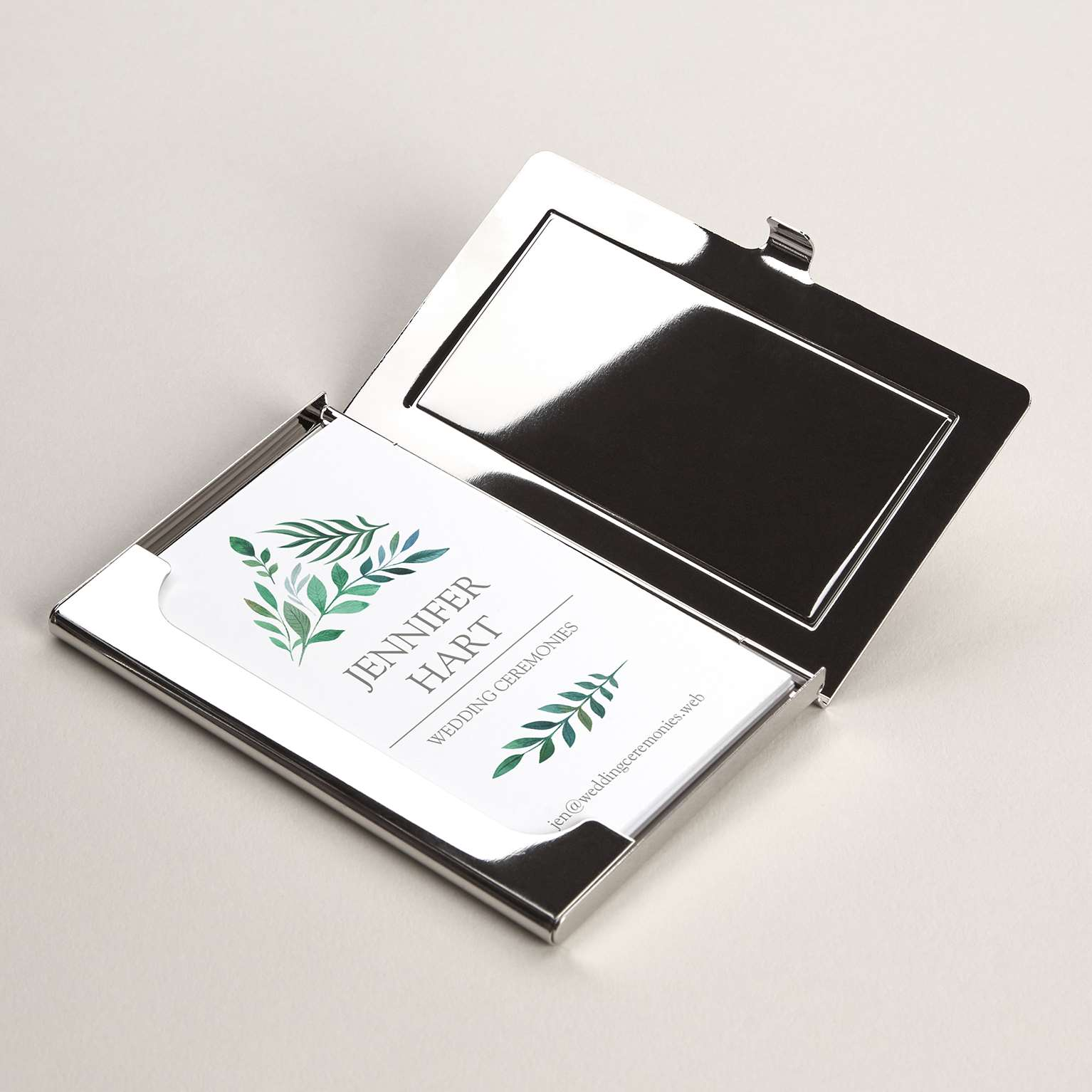 Metal business card holders professional card holder vistaprint colourmoves