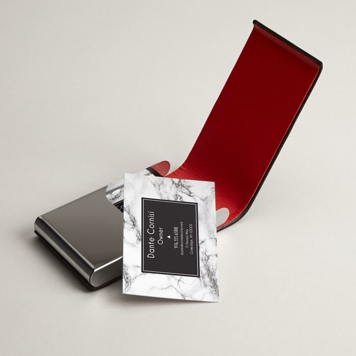 Leather Business Card Holders, Leather Card Case | Vistaprint