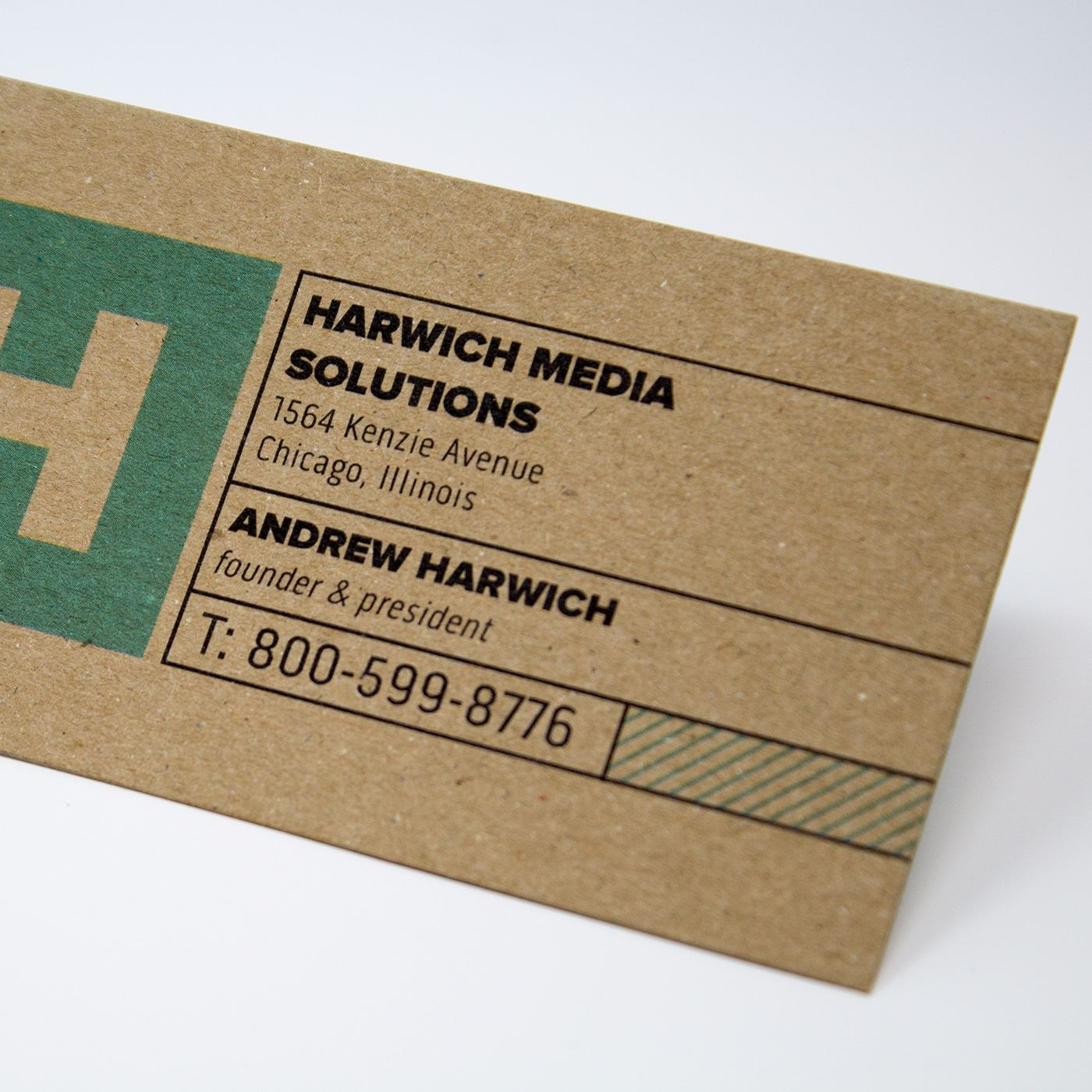 Kraft Paper Business Cards, Eco-friendly Cards | Vistaprint