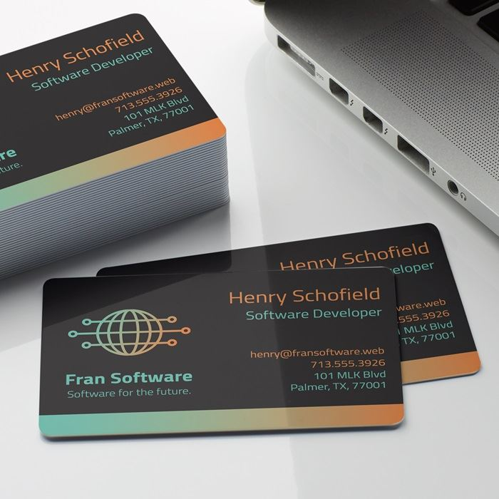Plastic Business Cards Printing | Vistaprint