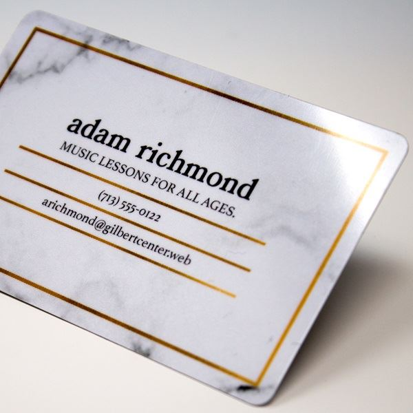 Business cards make your own custom cards vistaprint plastic reheart Gallery