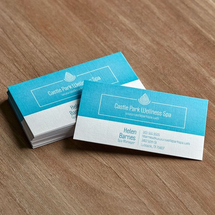 linen business cards next - Photo Business Cards