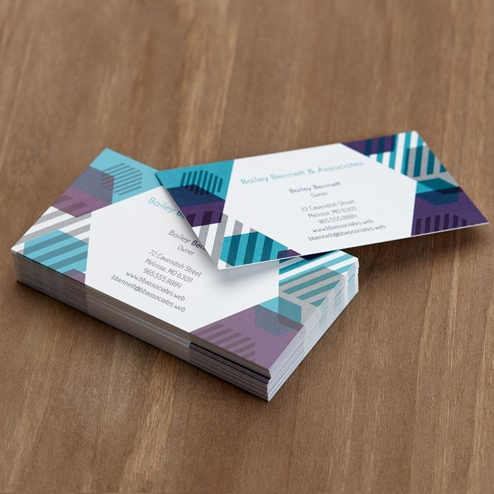 Custom standard business cards business card printing vistaprint home business cards standard business cards previous wajeb Images