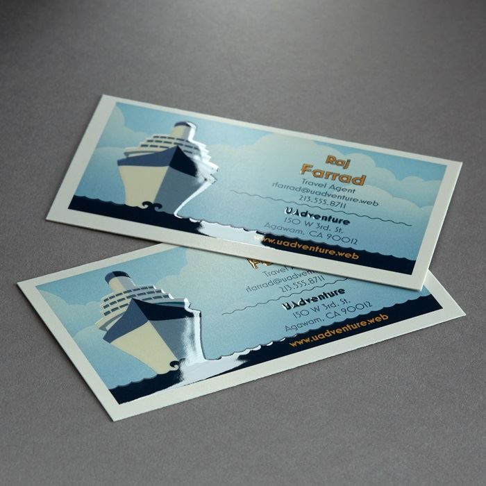 Spot UV Business Cards | Vistaprint