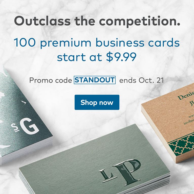 Vistaprint promo code vistaprint coupons discount codes 2018 500 standard business cards from 999 colourmoves