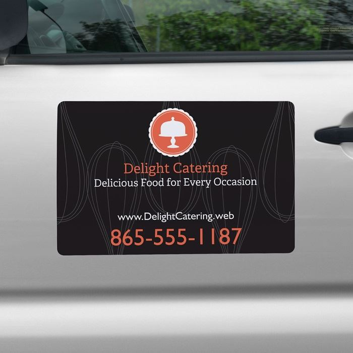 Car magnets magnetic signs vistaprint reheart