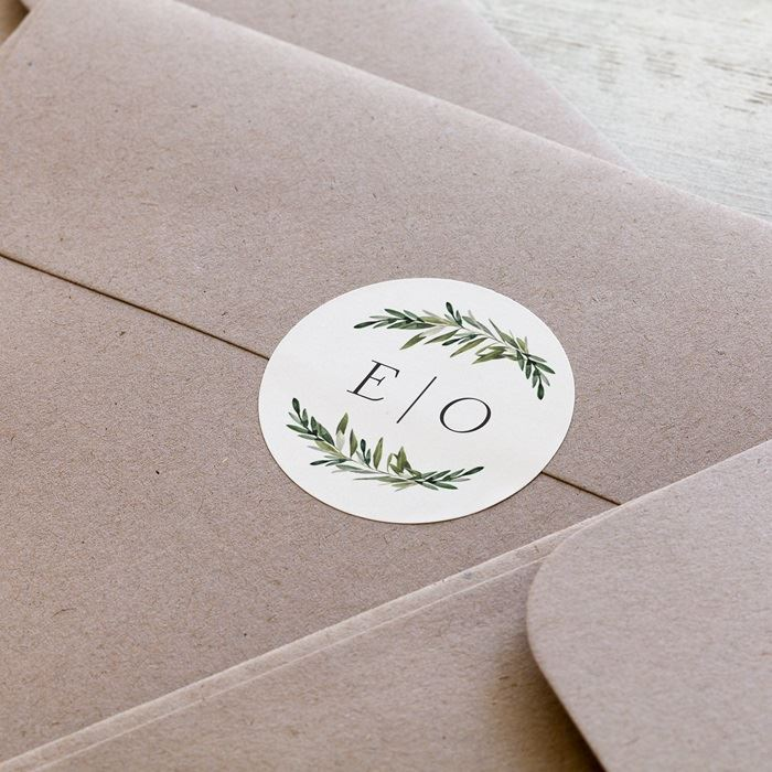 Custom Envelope Seals & Wedding Envelope Seals | Vistaprint