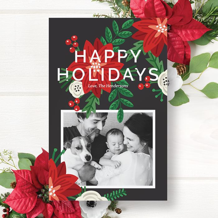 Christmas cards personalized holiday cards vistaprint holiday cards m4hsunfo