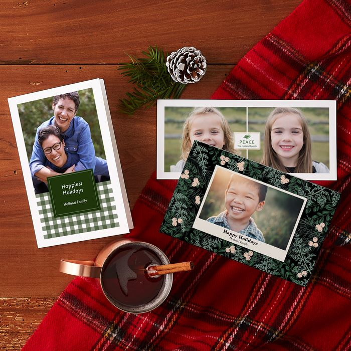 Christmas Cards, Personalized Holiday Cards | Vistaprint
