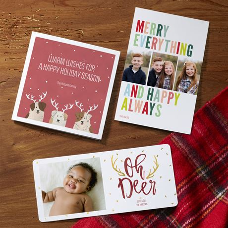 Christmas Cards Personalized Holiday Cards Vistaprint