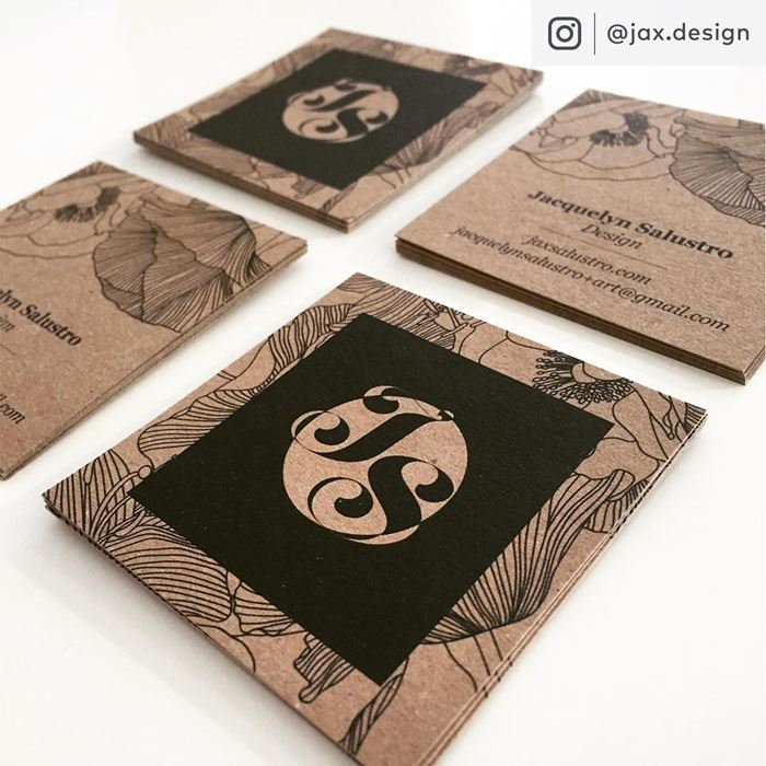 kraft bc - Kraft Paper Business Cards
