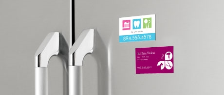 Business card magnets custom fridge magnets vistaprint magnetic business cards reheart Choice Image