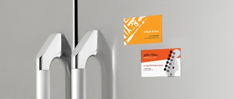 Magnetic business cards vistaprint magnetic business cards reheart Gallery