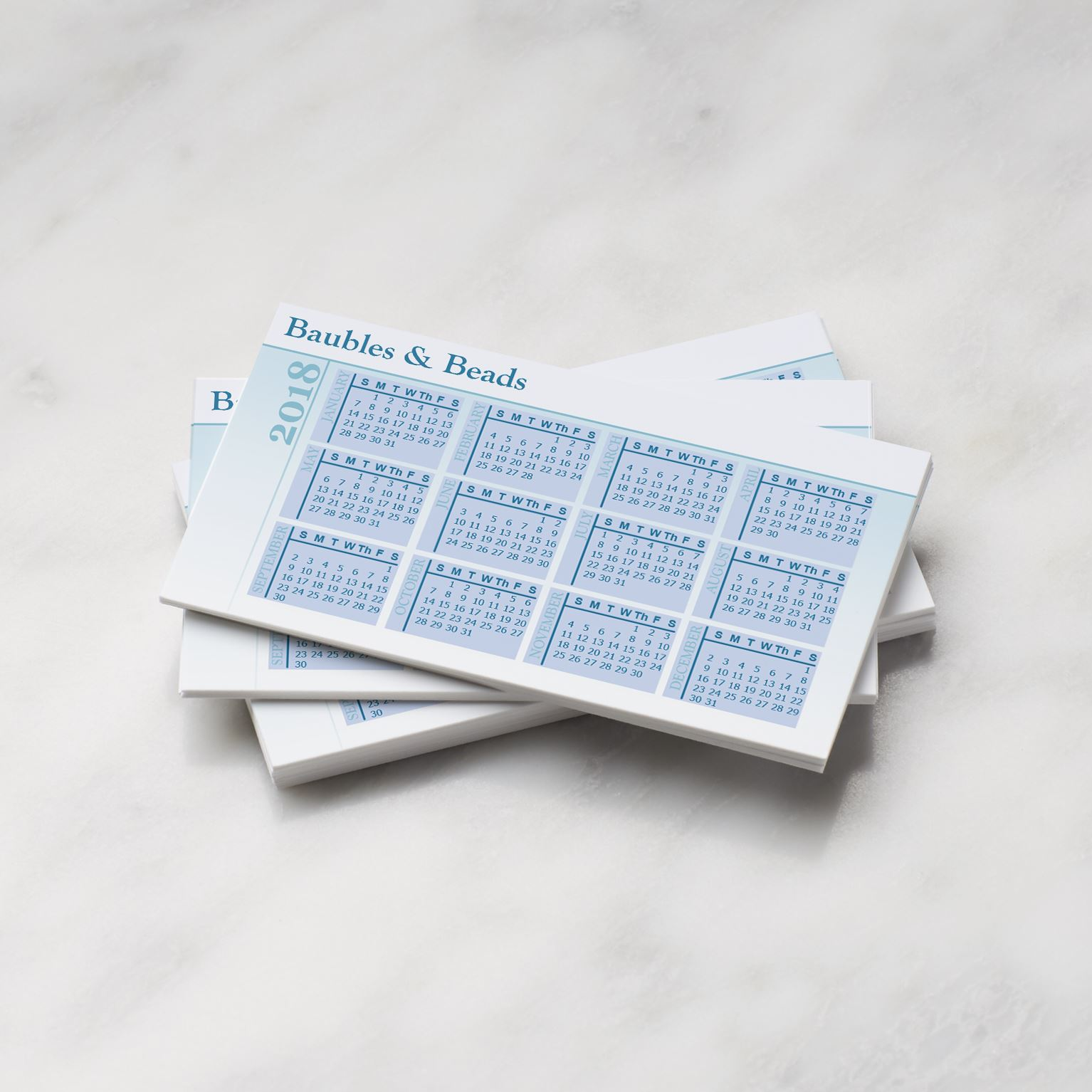 personalized pocket calendars 2019