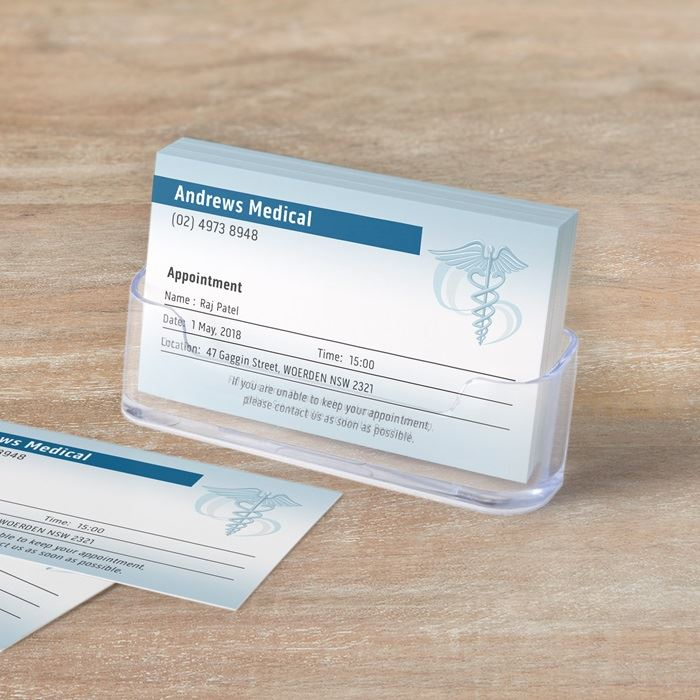 Business appointment cards | Vistaprint