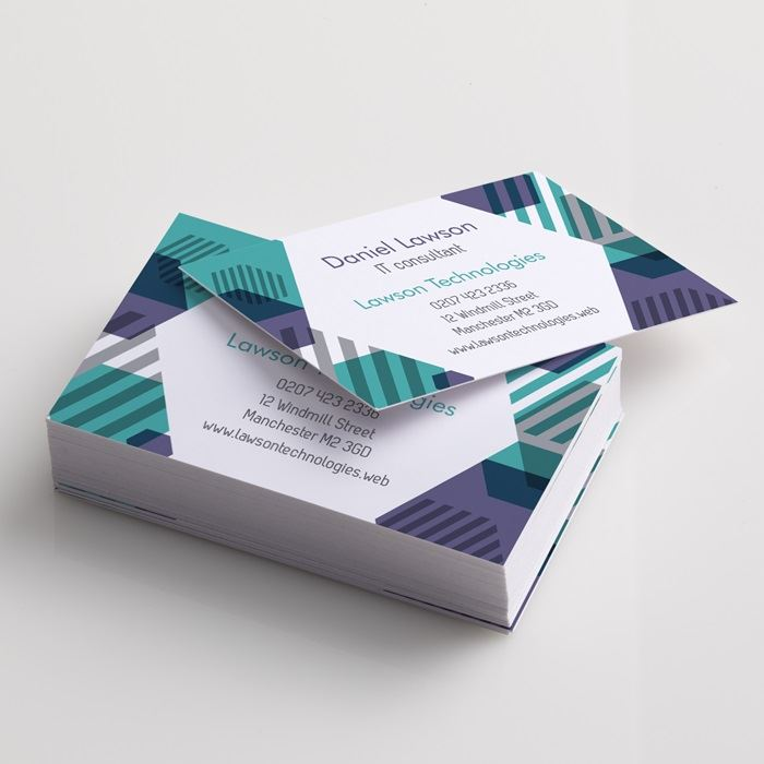 Custom standard business cards business card printing vistaprint standard business cards reheart Image collections