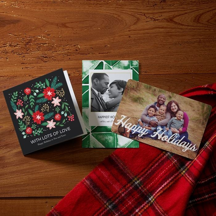 Christmas cards personalized holiday cards vistaprint holiday cards reheart Images