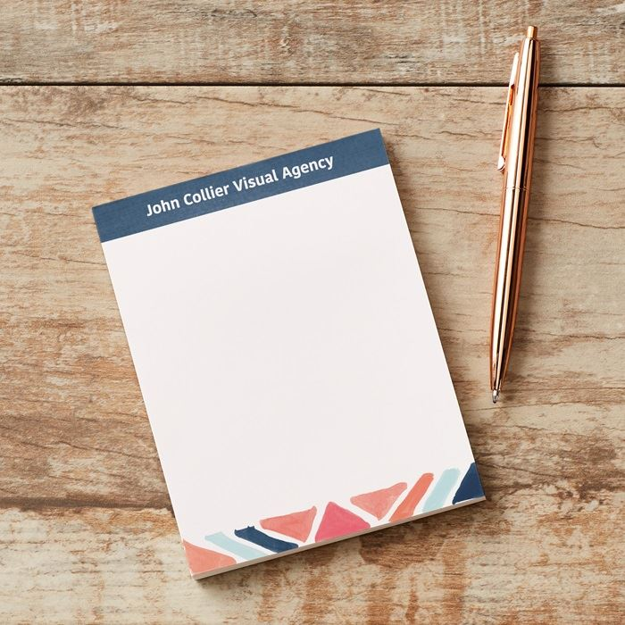 Executive College Stationery Note Cards: Personalised Notepads & Business Memo Pads