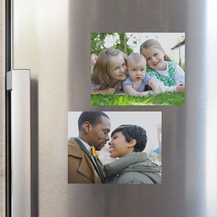 personalised photo magnets large magnets vistaprint