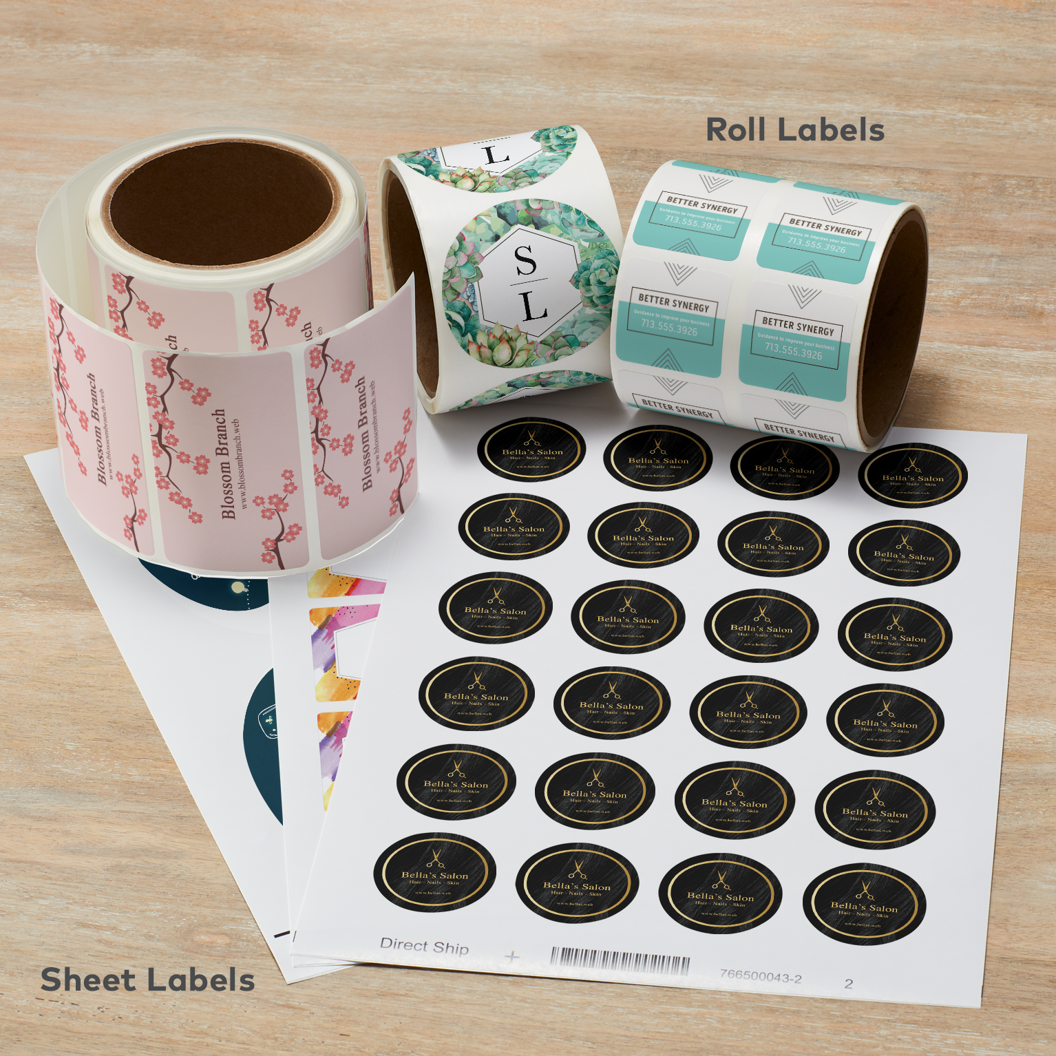 Where can I buy special paper for creating labels