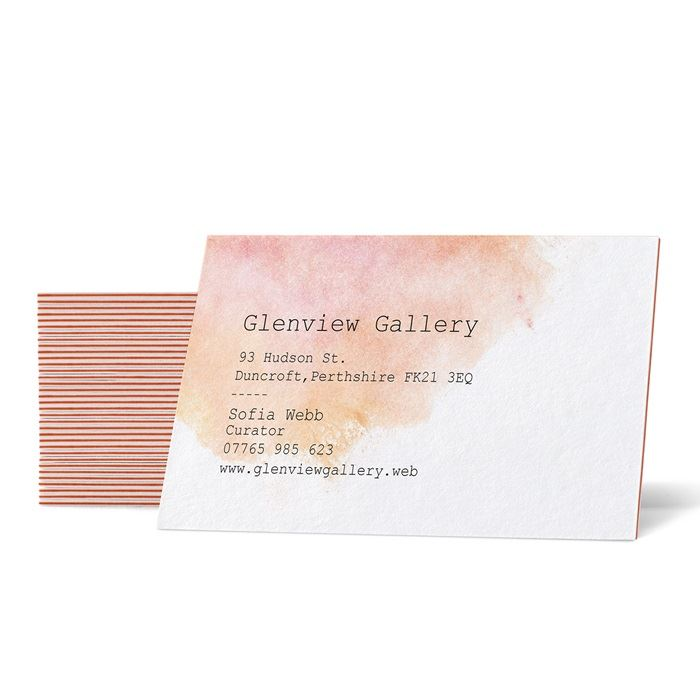 Triple Layer Business Cards | Vistaprint