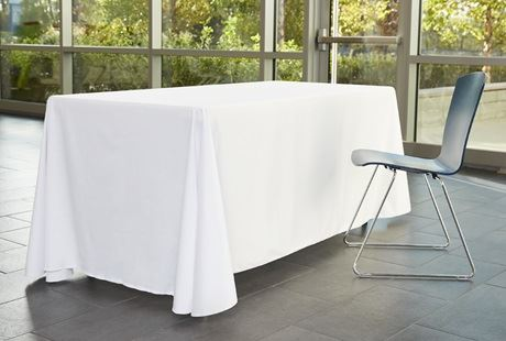Designer Table Cloth | Custom Tablecloths Trade Show Table Covers Vistaprint