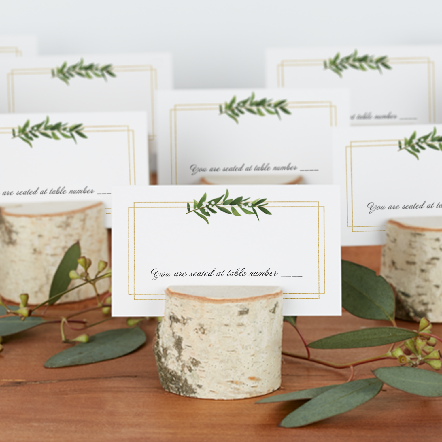 Wedding Place Cards Custom place cards