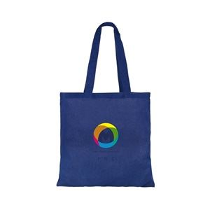 Basic cotton ink printed tote bags