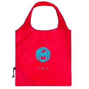 Polyester foldable shopper tote bags