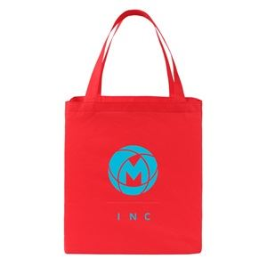 Non-woven gusset tote bags