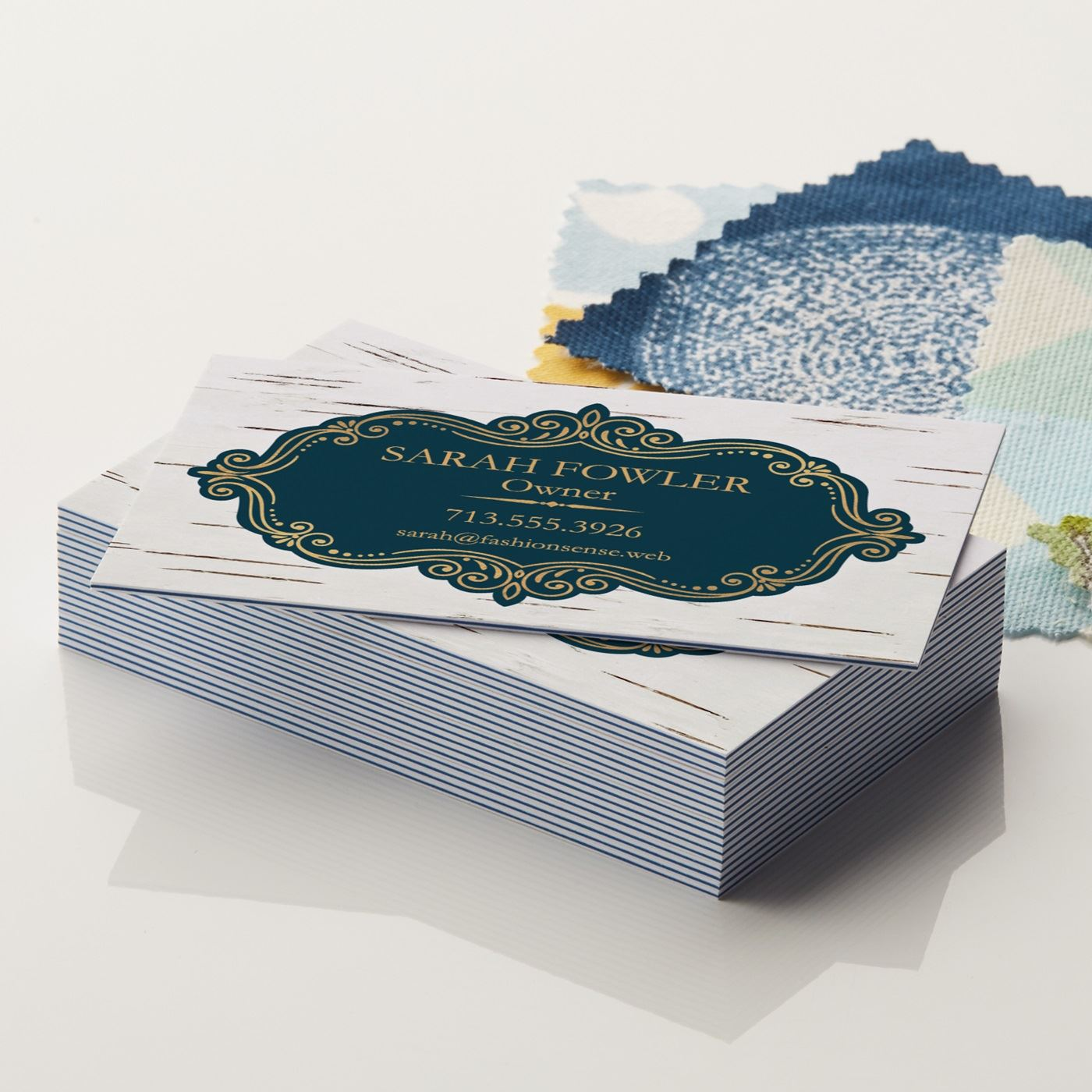 Colorfill business cards
