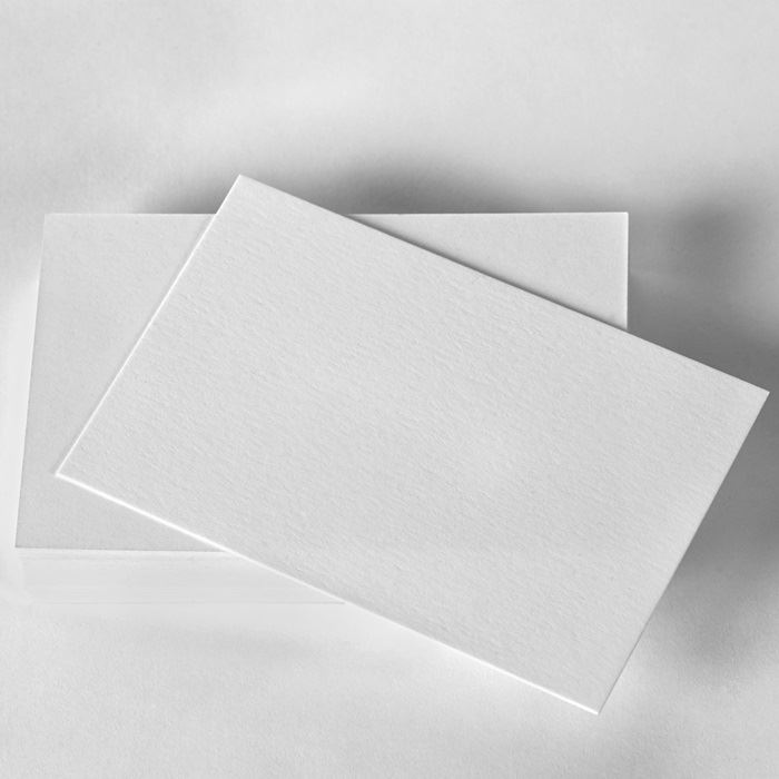 Natural Uncoated Business Cards