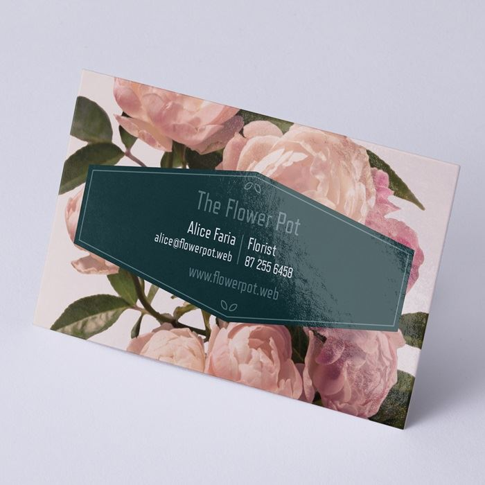 Glossy Business Cards