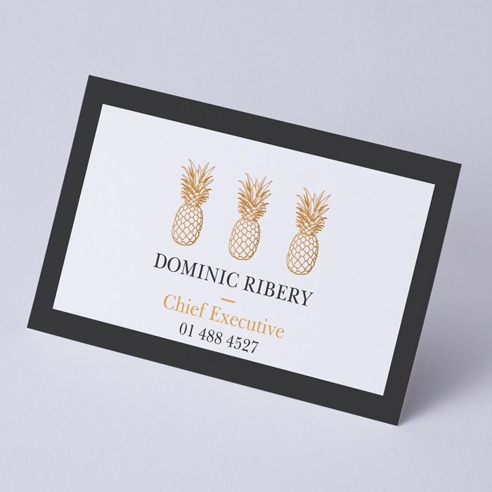 Recycled Uncoated Business Cards