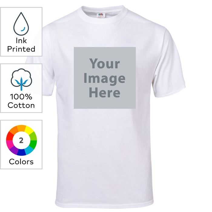 Fruit of the Loom® Ink Printed 5-Ounce Heavy Cotton HD™ Youth T-Shirts