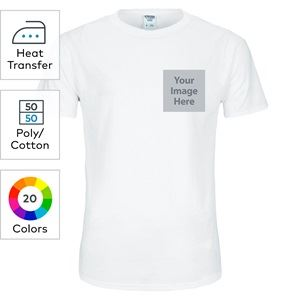 Dri-Power Active heat transfer 50/50 T-shirts