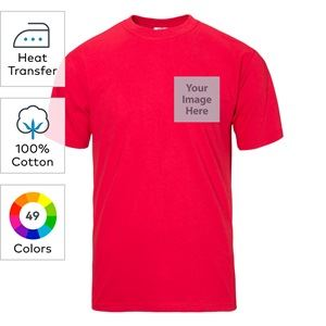 Fruit of the Loom® heat transfer heavy cotton HD T-shirts