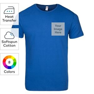 Fruit of the Loom® heat transfer SofSpun jersey crewneck T-shirts