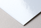 Glossy paper stock